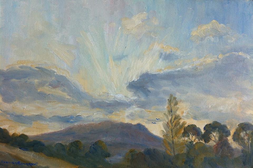 Sunset Carrick Mountain