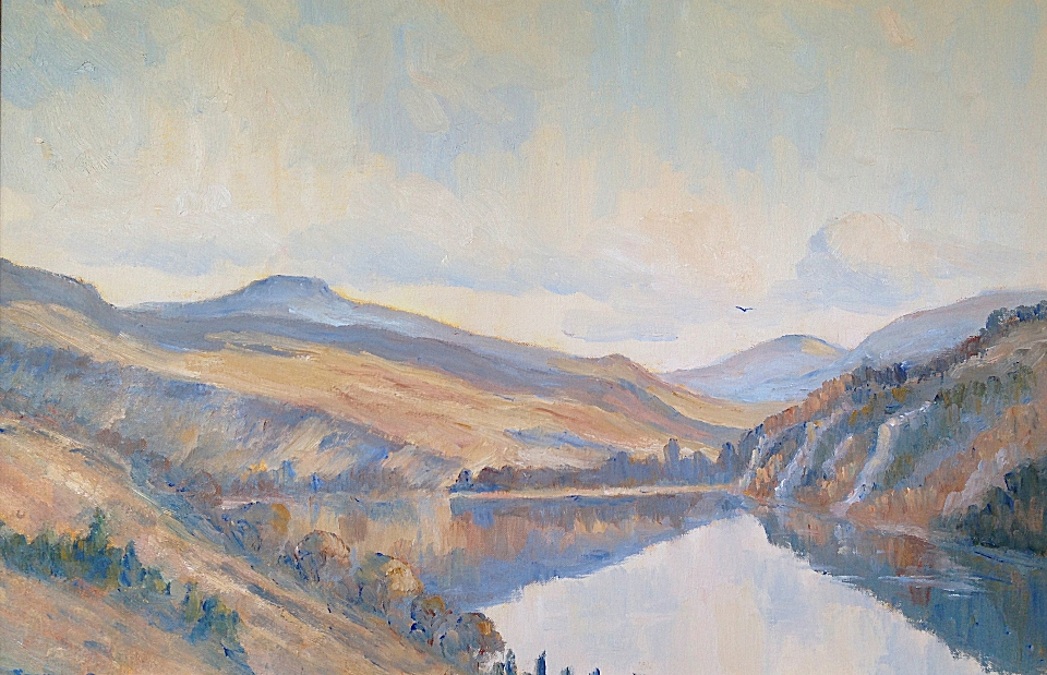 Autumn Calm, Lough Dan